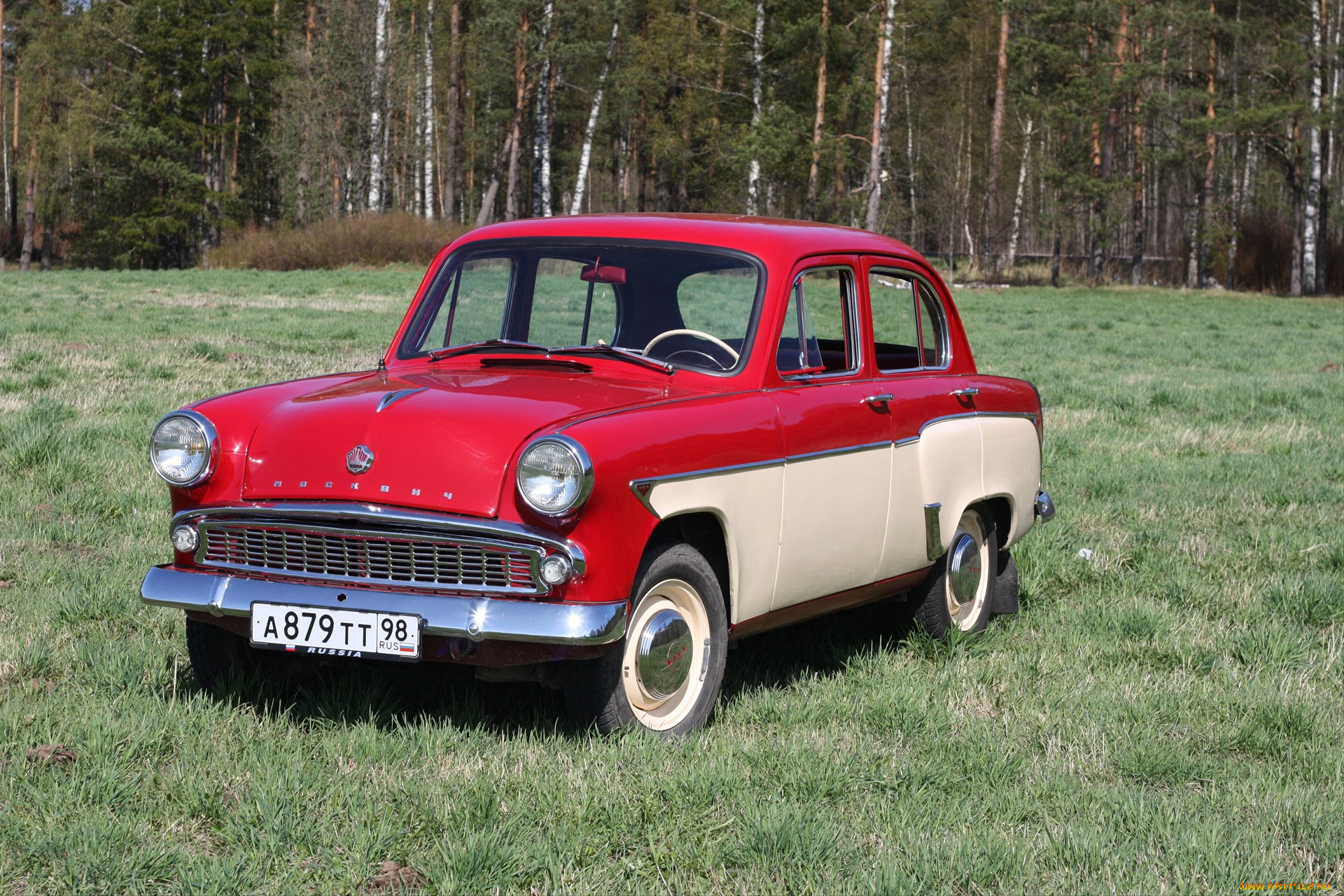 Фото старых авто москвич